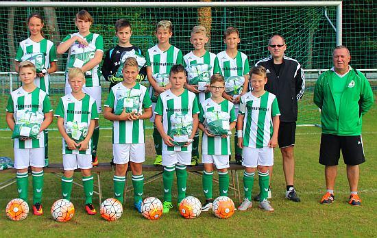 D-Junioren, TSV Bad Blankenburg 2008/09 (Foto: S.Botz)